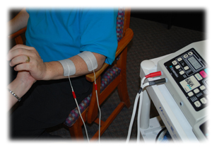 electrical stimulation and ultrasound modalities