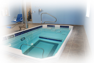 Jackson County's ONLY in-house aquatic therapy pool